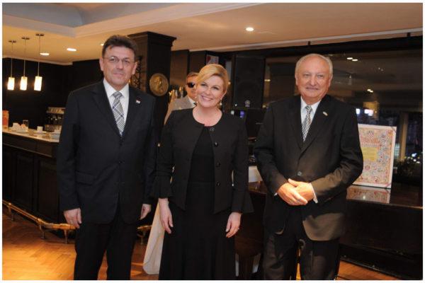 Cena de Honor a la Presidente de la República de Croacia