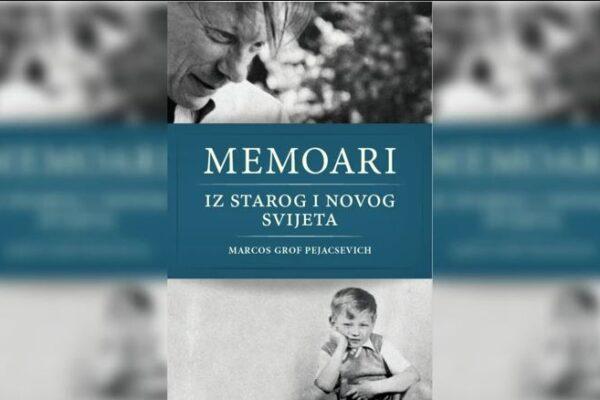 Marcos Pejacsevich lanza su primer libro: «Memorias del Viejo y del Nuevo Mundo»